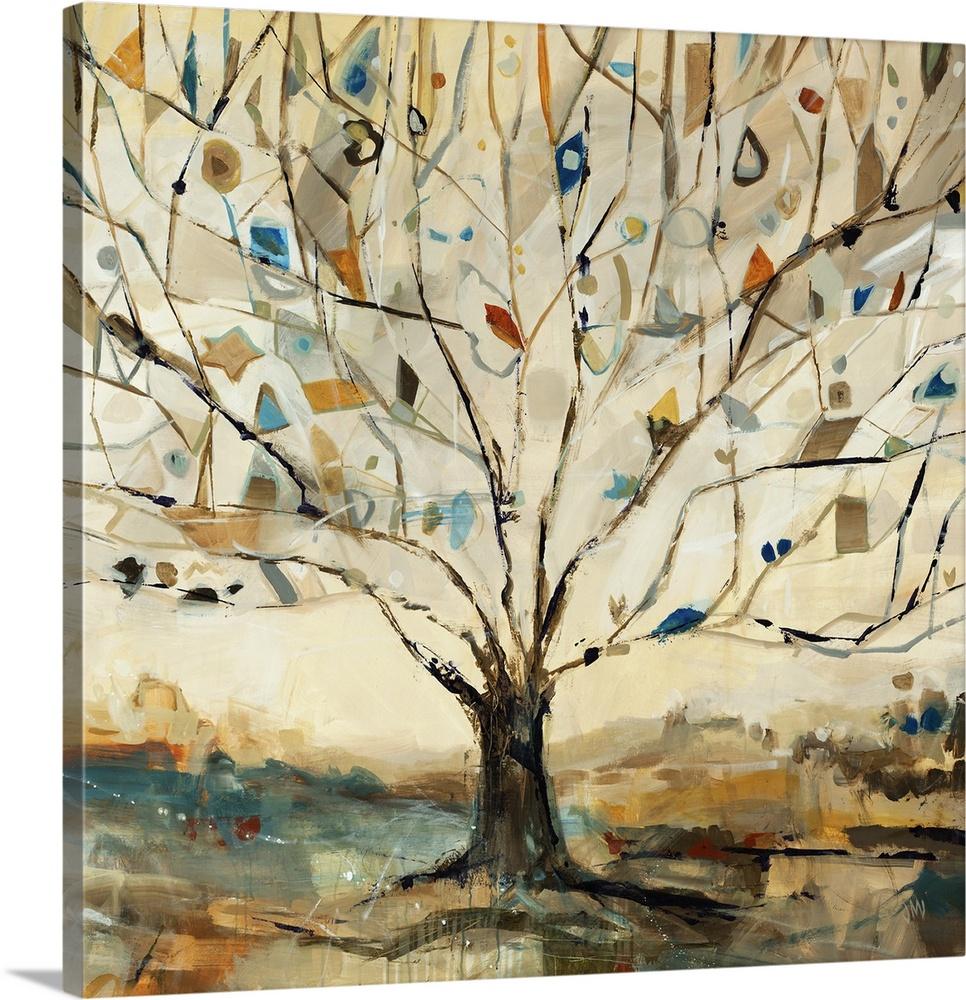 Merkaba Tree. Canvas