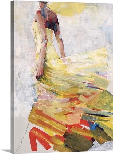 Pale Yellow Dress Wall Art, Canvas Prints, Framed Prints, Wall Peels ...