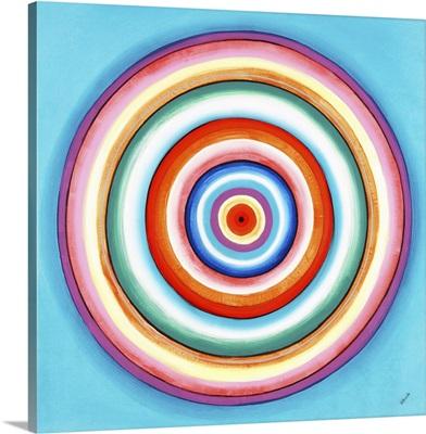 Rainbow Bull's-eye