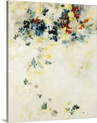 Sheer Floral Veil II