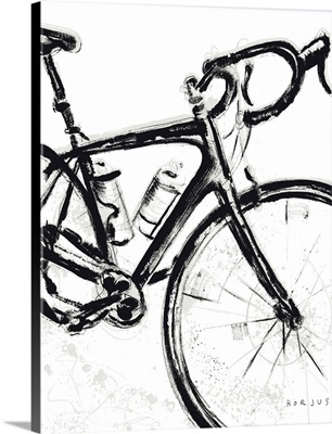 Road Bike Painting