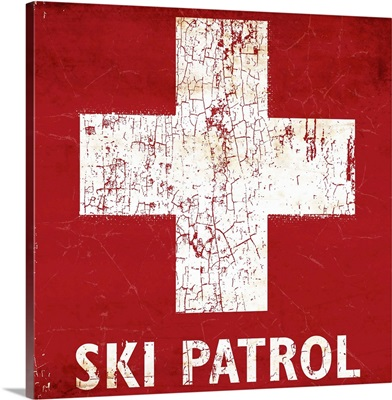 Ski Patrol Sign