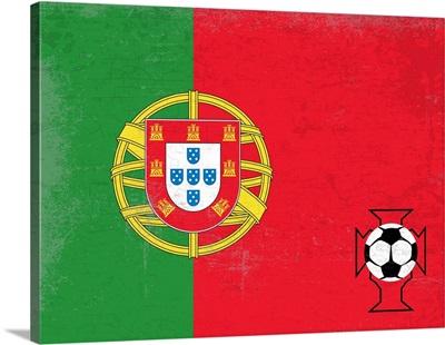 Soccer Flag, Portugal