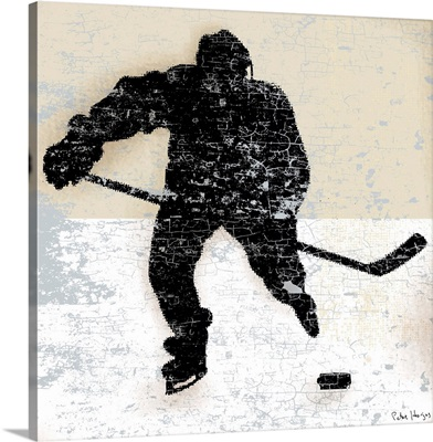 Vintage Hockey Player