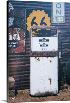 American West - Old Gas Station 66