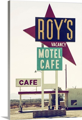American West - Roy's Motel Cafe