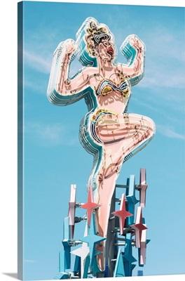 American West - Showgirl