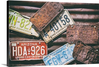 American West - US License Plates