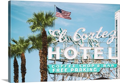 American West - Vegas Hotel Sign