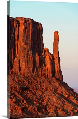 American West - West Mitten Butte at Sunset
