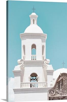 American West - White Church Steeple