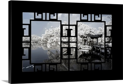 Asian Window, Another Look Series, White Dream