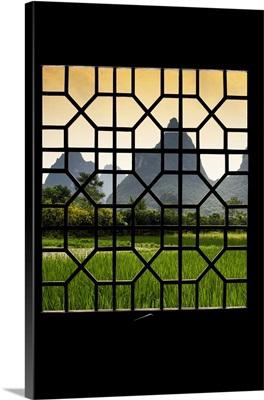 Asian Window, Karst Mountains in Yangshuo