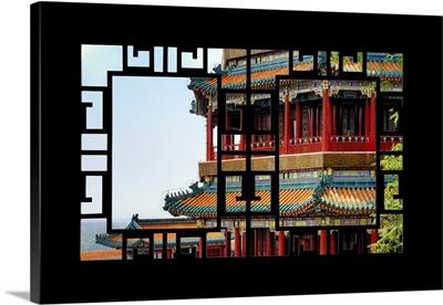 Asian Window, Summer Palace Architecture