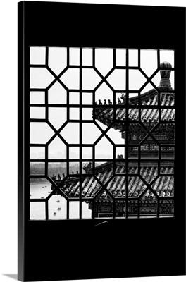 Asian Window, Summer Palace Temple