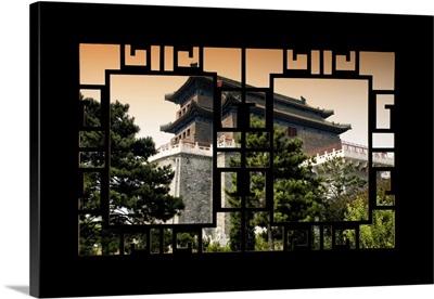 Asian Window, Temple Beijing
