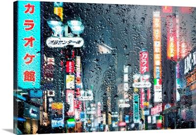 Behind The Window - Shibuya Tokyo