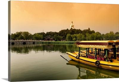 Beihai Park at Sunset
