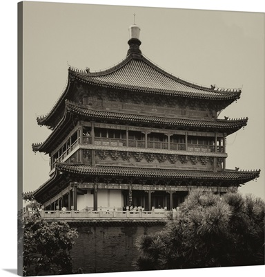 Bell Tower 14th Century, Xi'an City