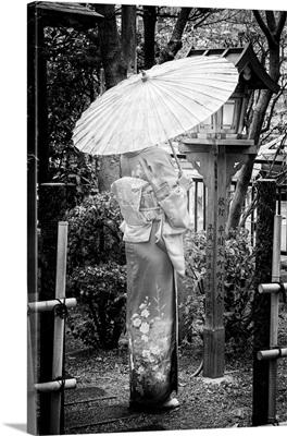 Black And White Japan Collection - Geisha