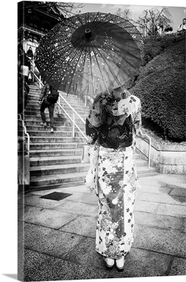 Black And White Japan Collection - Geisha Story