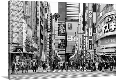 Black And White Japan Collection - Godzilla Road