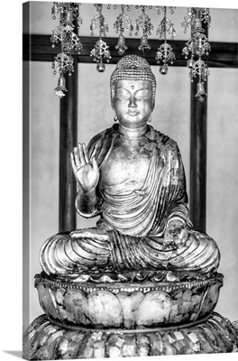 Black And White Japan Collection - Golden Buddha