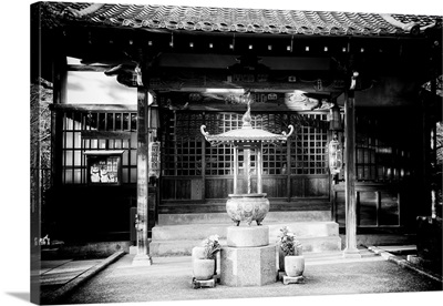Black And White Japan Collection - Gotokuji Temple