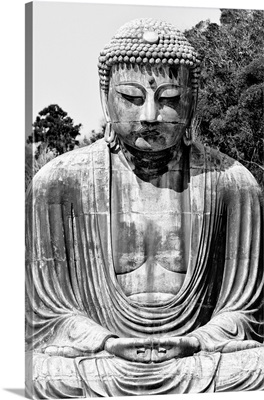 Black And White Japan Collection - Great Buddha