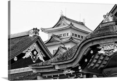 Black And White Japan Collection - Nagoya Castle