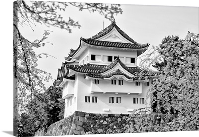 Black And White Japan Collection - Nagoya White Castle