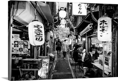 Black And White Japan Collection - Omoide Yokocho