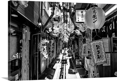 Black And White Japan Collection - Omoide Yokocho Tokyo