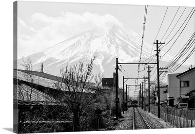 Black And White Japan Collection - On The Way To Mt. Fuji