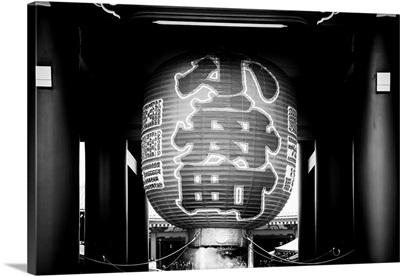 Black And White Japan Collection - Sacred Lantern