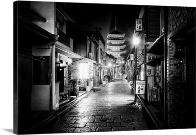 Black And White Japan Collection - Sannen Zaka Street Kyoto