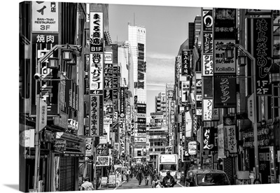 Black And White Japan Collection - Shinjuku