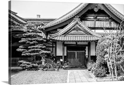 Black And White Japan Collection - Temple Architecture