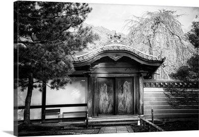 Black And White Japan Collection - Temple Gates