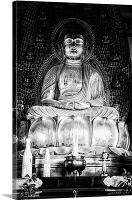 Black And White Japan Collection - The Golden Buddha