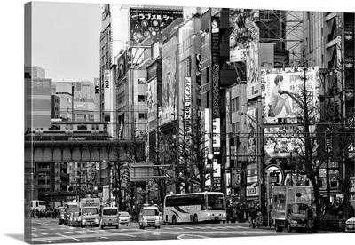 Black And White Japan Collection - Tokyo Akihabara