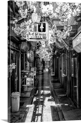 Black And White Japan Collection - Tokyo Omoide Yokoch