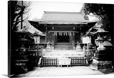 Black And White Japan Collection - Tokyo Temple