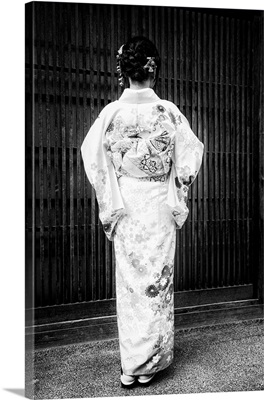 Black And White Japan Collection - Traditional Dress