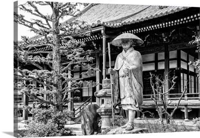 Black And White Japan Collection - Traditional Japanese Temple
