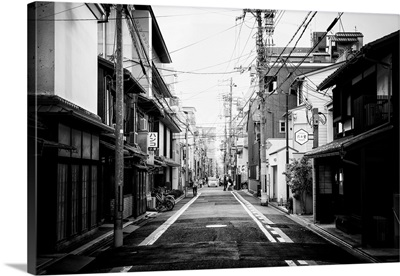 Black And White Japan Collection - Urban Scene