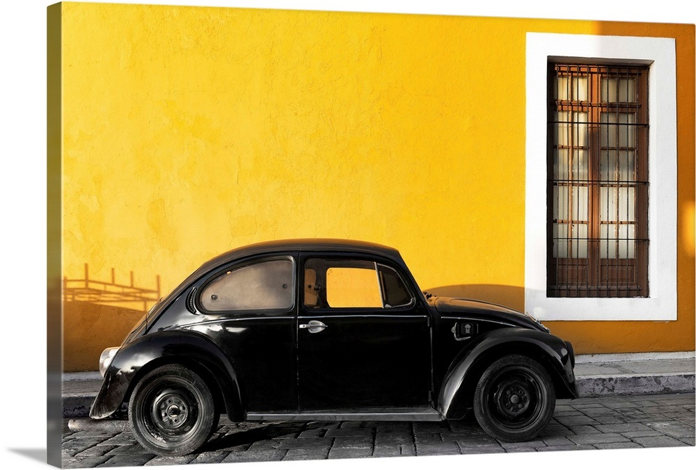 Your Item Was Added To Cart Black Vw Beetle Car