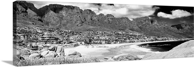Camps Bay Cape Town Black and White