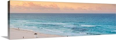 Cancun, Ocean view at Sunset II