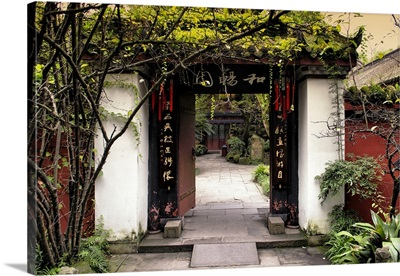 Chinese Traditional Door entry